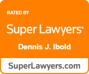 Rated by Super Lawyers Dennis Ibold SuperLawyers.com